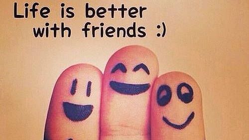 Life is better with friends! #friendship #life #friendsarefamily ...